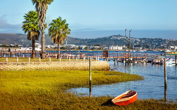 View over the lake on Knysna. South Africa Stock Photography