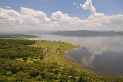 View over Lake Nakuru Stock Images
