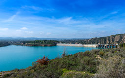 View over Lake Negratin Royalty Free Stock Image
