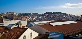 View over Lisbon Stock Photo