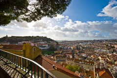 View over Lisbon Royalty Free Stock Photography