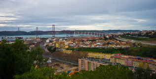 View over Lisbon Royalty Free Stock Image