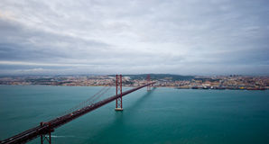 View over Lisbon Royalty Free Stock Photo