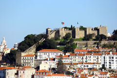 View over Lisbon, Portugal Royalty Free Stock Images