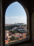 View over Lisbon Portugal Stock Photo