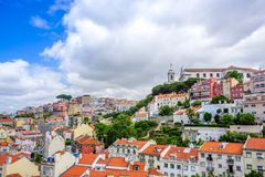 View over Lisbon Stock Photos
