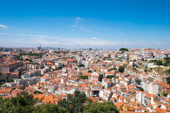 View over Lisbon on a sunny day Stock Photography