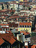 View over Lissabon. View over the roof tops of Lissabon, Portugal Royalty Free Stock Photo