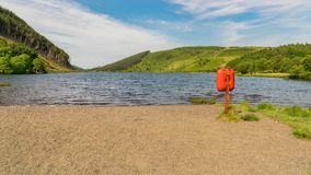 View over Llyn Geirionydd, Wales, UK royalty free stock images