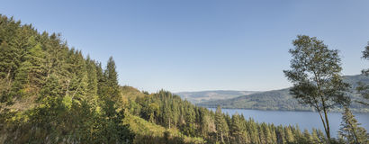 View over Loch Awe in West Argyll, Scotland. Stock Photography