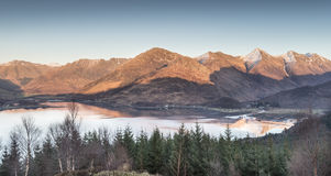 View over Loch Duich Royalty Free Stock Image