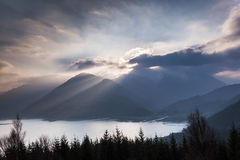 View over Loch Duich Stock Photos