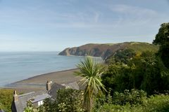 View over Lynmouth, Exmoor, North Devon Royalty Free Stock Photo