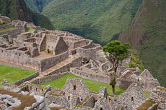 View over Machu Picchu Royalty Free Stock Images