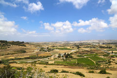View over Malta Royalty Free Stock Photo