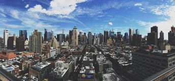 View over Manhattan Stock Photography