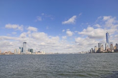 View over Manhattan Royalty Free Stock Photography