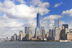 View over Manhattan Royalty Free Stock Photo