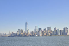 View over Manhattan Stock Image