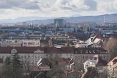 View over Maribor Royalty Free Stock Photo