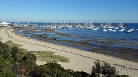View over marina Royalty Free Stock Photography