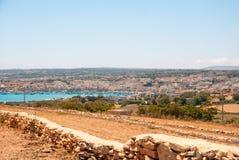 View over Marsaxlokk bay, Malta Royalty Free Stock Images