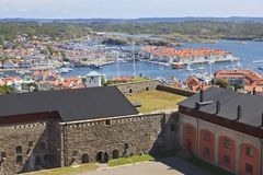 View over Marstrand Stock Image