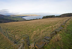 Free View Over Meadows To The Coast Stock Photo - 18762890