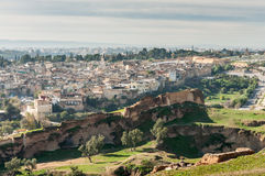 View over the medina of Fez, Morocco Royalty Free Stock Photography