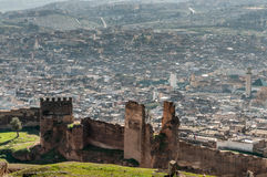 View over the medina of Fez, Morocco Stock Image