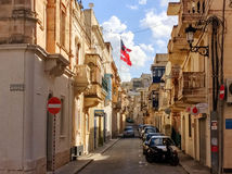 View over Mellieha, Malta Stock Photos