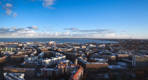 View over modern Tallinn Royalty Free Stock Photo