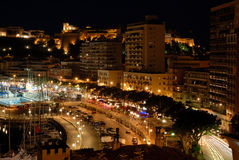 View over Monaco Royalty Free Stock Photography