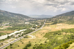 View over Mtskheta Royalty Free Stock Images