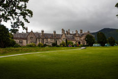 View over Muckross House. Muckross House in Killarney National Park Kerry Stock Image