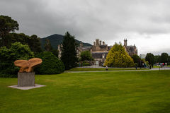 View over Muckross House. Muckross House in Killarney National Park Kerry Royalty Free Stock Photography