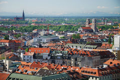 View over Munich Royalty Free Stock Photo