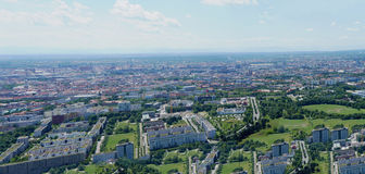 View over Munich, Bavaria Royalty Free Stock Photo