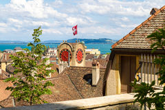 View over Neuchatel Royalty Free Stock Photography