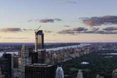 View over New York Stock Photography