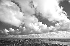 View over New York Royalty Free Stock Photo