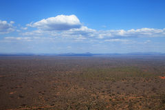 View over Ngulia rhino sanctuary Royalty Free Stock Photography