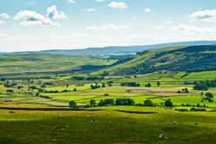 View over North Yorkshire Stock Photography