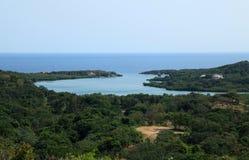 View over Oakridge in Roatan Stock Images
