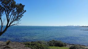 View over ocean Royalty Free Stock Photography