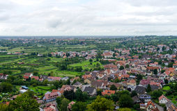 View over Offenburg, Germany Royalty Free Stock Photo