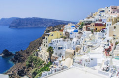 View over Oia Royalty Free Stock Photography