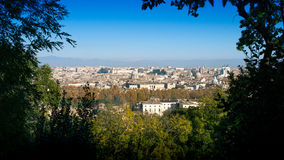View over the old city of Rome Royalty Free Stock Image