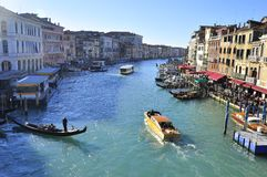 View over the old city of Venice Royalty Free Stock Images
