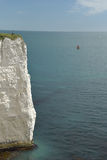 View over Old Harry Rocks, Swanage Stock Photo